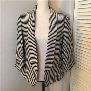 [Ann Taylor LOFT] Metallic Linen Blazer